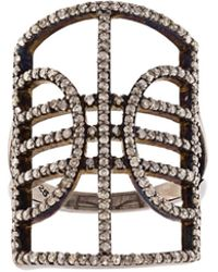 Carole Shashona - 'mercury' Diamond Ring - Lyst