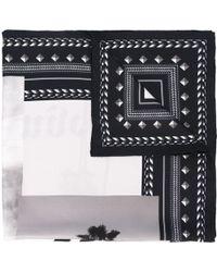 Palm Angels - Logo Print Scarf - Lyst