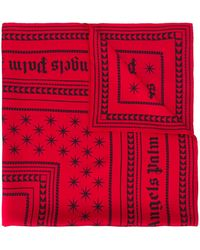 Palm Angels - Logo Print Scarf - Lyst