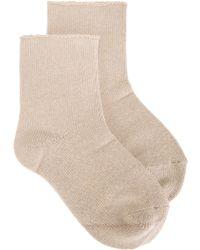 Erika Cavallini Semi Couture - Knitted Socks - Lyst