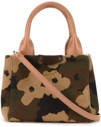 MUVEIL - Camouflage Print Tote - Lyst