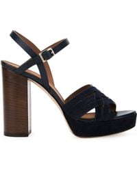 Scanlan Theodore | Cross Front Platform Sandals | Lyst