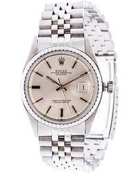 Rolex   'datejust' Analog Watch   Lyst