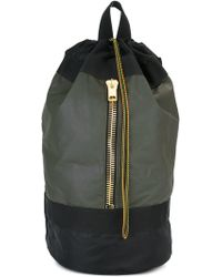 Palm Angels - Gold-tone Zipper Large Backpack - Lyst