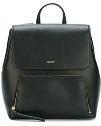 DKNY - Leather Backpack - Lyst