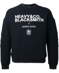 Yoshio Kubo - Logo Print Sweatshirt - Lyst