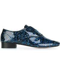 Repetto - 'tattoo' Lace Up Shoes - Lyst