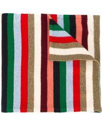Paul & Joe - Striped Knitted Scarf - Lyst