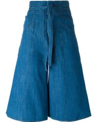 MASSCOB - High-waisted Knee-length Shorts - Lyst