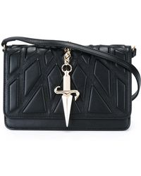 Cesare Paciotti   Quilted 'dagger' Cross Body Bag   Lyst