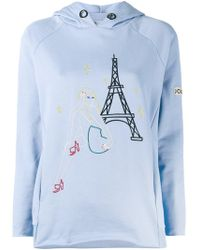 JOUR/NÉ - Embroidered Paris Hoodie - Lyst