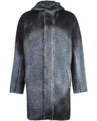 Avant Toi - Hooded Coat - Lyst