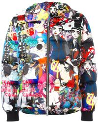 DSquared² 'manga Punk Gang' Down Jacket