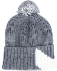 Moncler Gamme Bleu - Ribbed Pompom Beanie - Lyst
