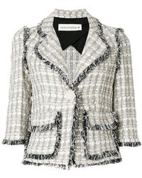 Shirtaporter - Distressed Styled Jacket - Lyst