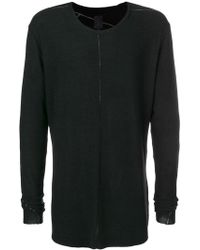 Thom Krom - Long-sleeve Fitted Sweater - Lyst