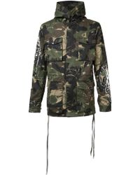 Haculla - Camouflage Print Coat - Lyst