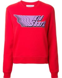 Carven | 'kid Shark' Print Sweatshirt | Lyst