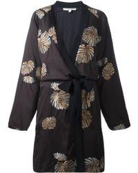 Valentine Gauthier - Erwan Art Deco Cotton-Blend Jacket - Lyst
