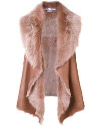 Nellie Partow - Cyrus Fur Vest - Lyst