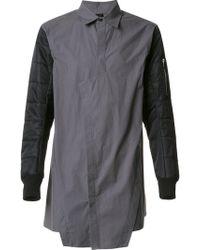 BMUET(TE) - Bmuet(te) Asymmetric Open Shirt - Lyst