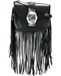 HTC Hollywood Trading Company - Fringe Studded Carryall Crossbody Bag - Lyst