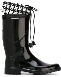 DSquared² - 'babe Wire' Insert Rain Boots - Lyst