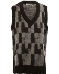 ANREALAGE - - Knitted Tunic Vest - Men - Acrylic/nylon/polyester/alpaca - One Size - Lyst