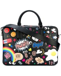 Anya Hindmarch - 'all Over Stickers Walton' Briefcase - Lyst