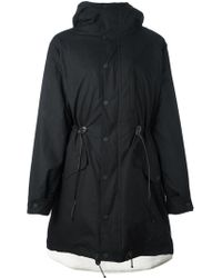 Marcelo Burlon - Hooded Parka - Lyst