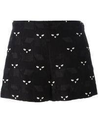 Giamba - Cat Shorts - Lyst