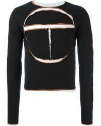Telfar - Paneled Sweatshirt - Lyst