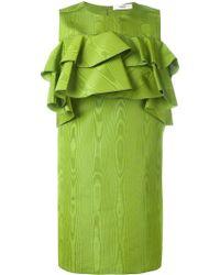 Bally - Ruffled Babydoll Dress - Lyst