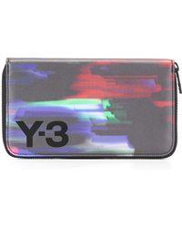 Y-3 - Logo Print Wallet - Lyst