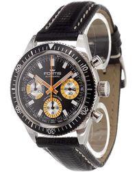 Fortis - 'marinemaster Vintage Chrono' Analog Watch - Lyst