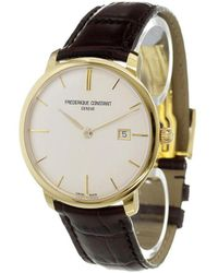 Frederique Constant - 'slimline Automatic' Analog Watch - Lyst