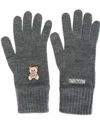 Moschino - Toy Bear Gloves - Lyst