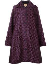 Pascal Millet - Floral Embellished Sleeveless Coat - Lyst