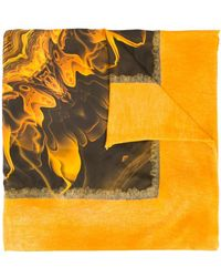 Avant Toi - Flammable Print Scarf - Lyst