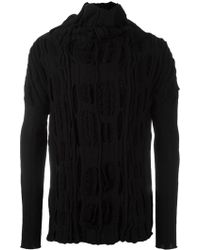 Individual Sentiments - Textured Jumper - Lyst