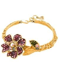 Christian Lacroix - Flower Detail Necklace - Lyst
