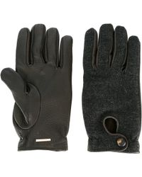 Lardini - Panelled Gloves - Lyst
