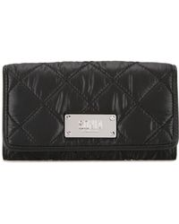 Sonia by Sonia Rykiel - Quilted Flap Closure Wallet - Lyst