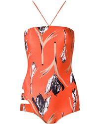 Giuliana Romanno - Printed Swimsuit - Lyst