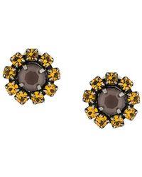 Rada' - Radà Stone Embellished Earrings - Lyst