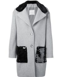 Gaëlle Bonheur - Single Breasted Coat - Lyst