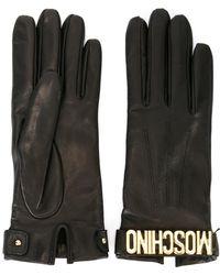 Moschino | Logo Gloves | Lyst