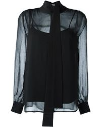 FWSS - 'don't Know' Blouse - Lyst