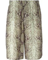 Jean Paul Gaultier - Snake Print Shorts - Lyst