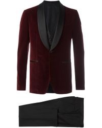 Ferragamo - Three-piece Smoking Suit - Lyst